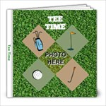 Golf 8x8 photo book - 8x8 Photo Book (20 pages)