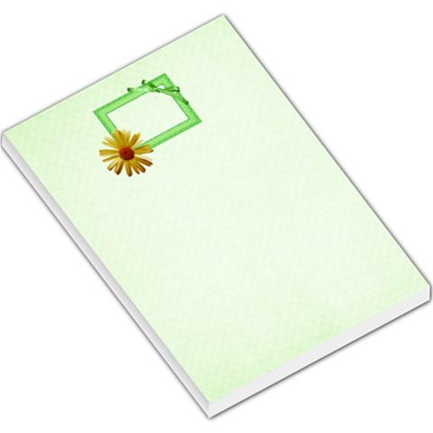 Our Backyard Party Lg Memo 1 By Lisa Minor   Large Memo Pads   Vo8xd4vqock2   Www Artscow Com