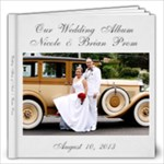 Our Wedding Album - 12x12 Photo Book (20 pages)