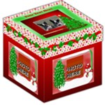 Holiday storage stool 3 - Storage Stool 12