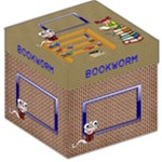 Bookworm storage stool - Storage Stool 12