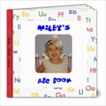 MileyABC book - 8x8 Photo Book (20 pages)