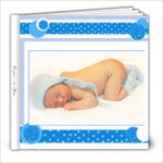 Cooper 0-12 months old - 8x8 Photo Book (20 pages)