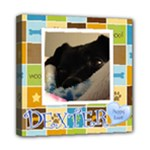 dexter2 - Mini Canvas 8  x 8  (Stretched)