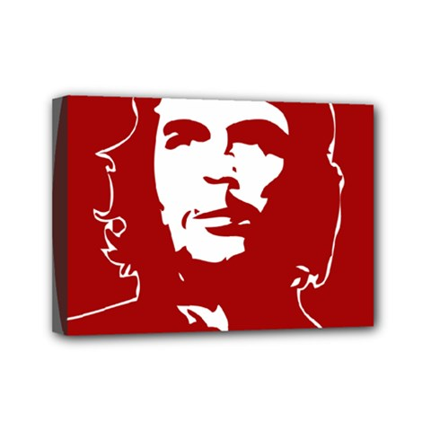 Chce Guevara, Che Chick Mini Canvas 7  X 5  (framed) by youshidesign