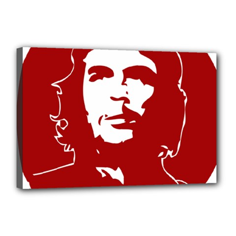 Chce Guevara, Che Chick Canvas 18  X 12  (framed) by youshidesign