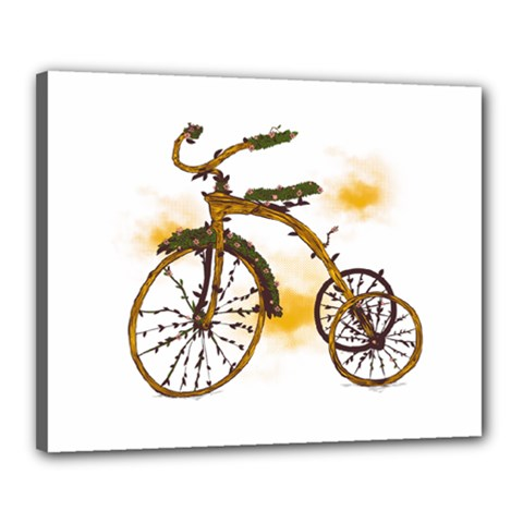 Tree Cycle Canvas 20  x 16  (Framed) by Contest1753604