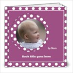 Pink and lilac Picture book 8x8  (20 pages) - 8x8 Photo Book (20 pages)