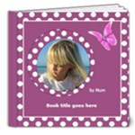 Pink and lilac Deluxe Picture book 8x8  (20 pages) - 8x8 Deluxe Photo Book (20 pages)