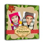 MERRRY CHRISTMAS - Mini Canvas 8  x 8  (Stretched)