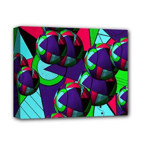Balls Deluxe Canvas 14  X 11  (framed) by Siebenhuehner