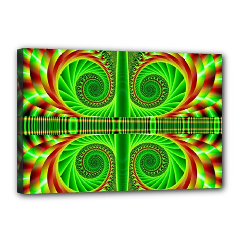 Design Canvas 18  X 12  (framed) by Siebenhuehner