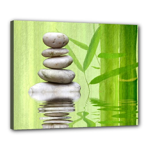 Balance Canvas 20  x 16  (Framed) by Siebenhuehner