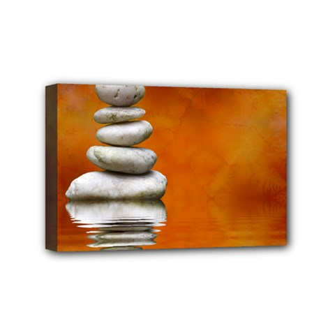 Balance Mini Canvas 6  X 4  (framed) by Siebenhuehner