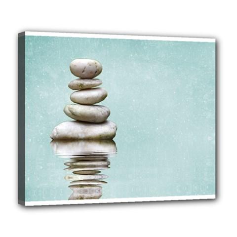 Balance Deluxe Canvas 24  X 20  (framed) by Siebenhuehner
