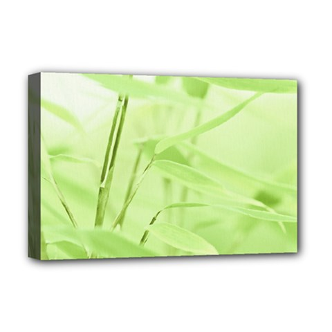 Bamboo Deluxe Canvas 18  X 12  (framed) by Siebenhuehner