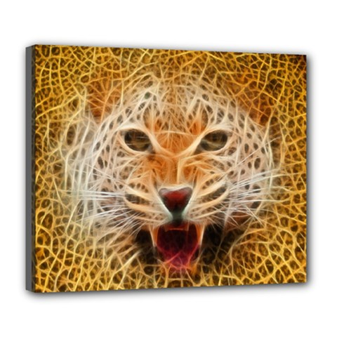 66w Deluxe Canvas 24  X 20  (framed) by TheWowFactor