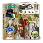 Europe 2001 - 8x8 Photo Book (20 pages)