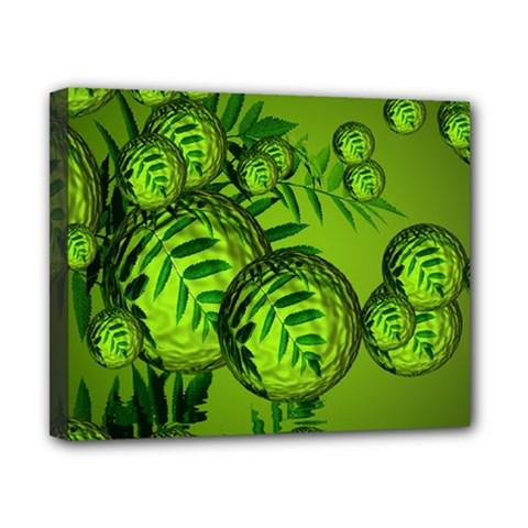 Magic Balls Canvas 10  X 8  (framed) by Siebenhuehner