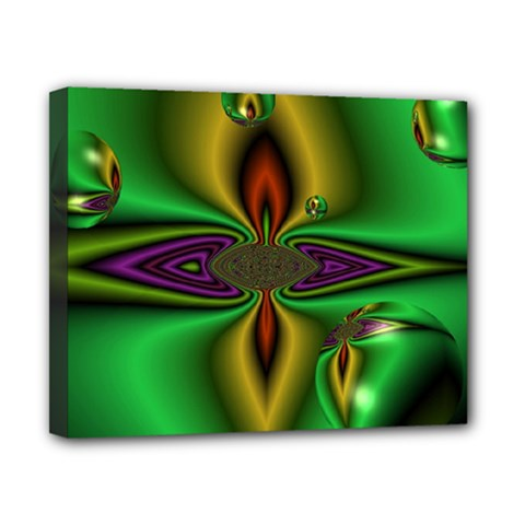 Magic Balls Canvas 10  X 8  (framed) by Siebenhuehner