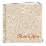 thank u - 8x8 Photo Book (20 pages)