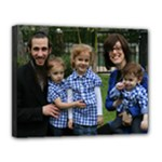 11x14 Fam pic fl 2 - Canvas 14  x 11  (Stretched)