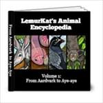 LemurKat s Animal Encyclopedia - Volume 1 - 6x6 Photo Book (20 pages)