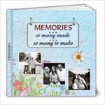 Memories 8x8 Photo Book (30 pages)