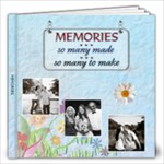 Memories 12x12 Photo Book (30 pages)