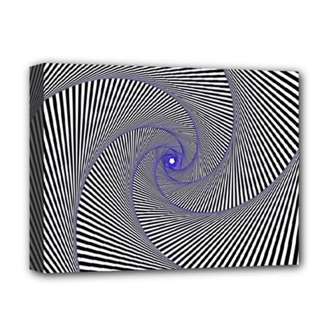 Hypnotisiert Deluxe Canvas 16  X 12  (framed)  by Siebenhuehner
