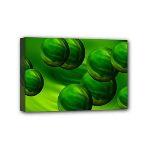 Magic Balls Mini Canvas 6  x 4  (Framed) by Siebenhuehner