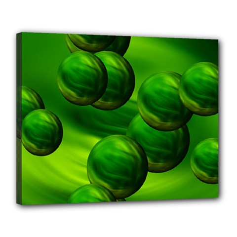 Magic Balls Canvas 20  X 16  (framed) by Siebenhuehner