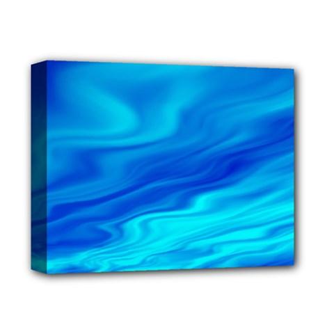 Blue Deluxe Canvas 14  X 11  (framed) by Siebenhuehner