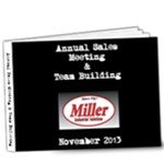 Annual Sales Meeting  - 9x7 Deluxe Photo Book (20 pages)