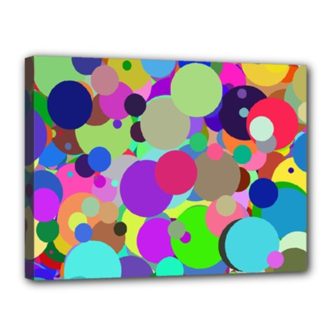 Balls Canvas 16  X 12  (framed) by Siebenhuehner