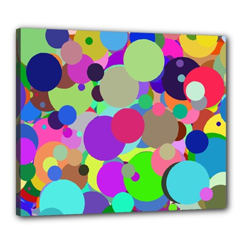 Balls Canvas 24  X 20  (framed) by Siebenhuehner
