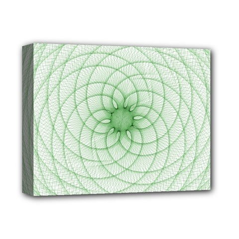 Spirograph Deluxe Canvas 14  X 11  (framed) by Siebenhuehner