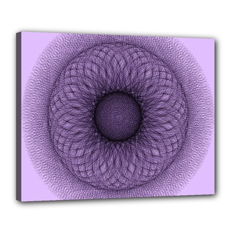 Mandala Canvas 20  X 16  (framed) by Siebenhuehner