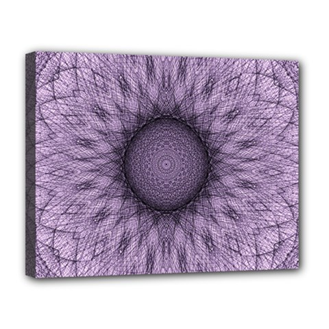 Mandala Canvas 14  X 11  (framed) by Siebenhuehner