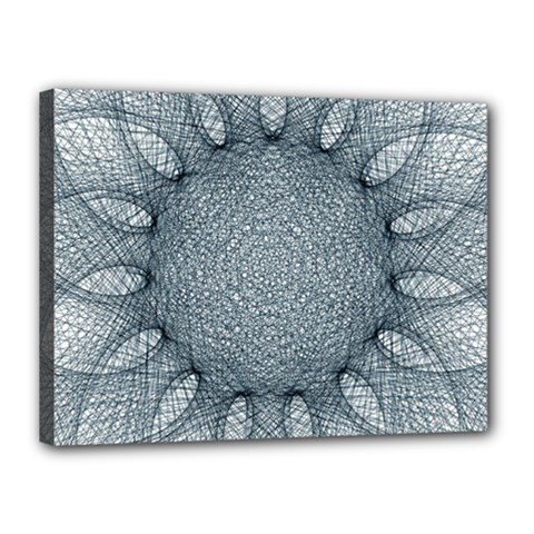 Mandala Canvas 16  X 12  (framed) by Siebenhuehner