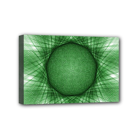 Spirograph Mini Canvas 6  X 4  (framed) by Siebenhuehner