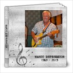 MANIC DEPRESSION - 8x8 Photo Book (20 pages)