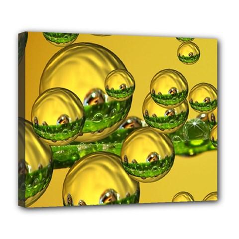 Balls Deluxe Canvas 24  X 20  (framed) by Siebenhuehner