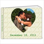 wedding 3 - 9x7 Photo Book (20 pages)