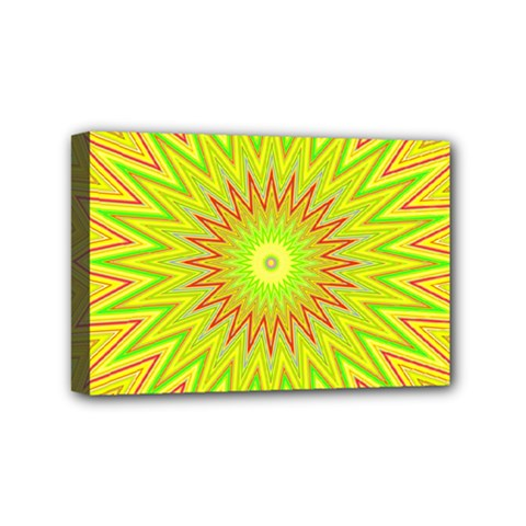 Mandala Mini Canvas 6  X 4  (framed) by Siebenhuehner
