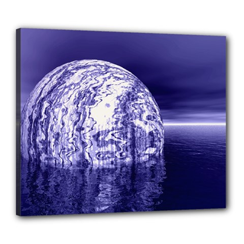 Ball Canvas 24  X 20  (framed) by Siebenhuehner