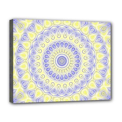 Mandala Canvas 14  X 11  (framed) by Siebenhuehner