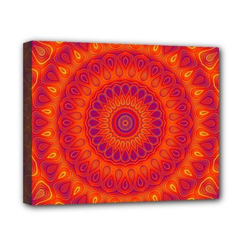 Mandala Canvas 10  X 8  (framed) by Siebenhuehner