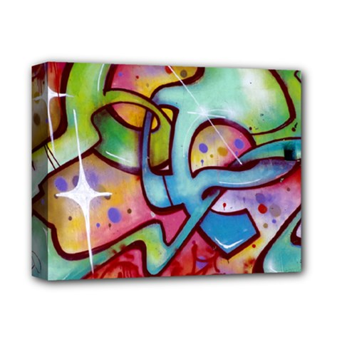 Graffity Deluxe Canvas 14  X 11  (framed) by Siebenhuehner