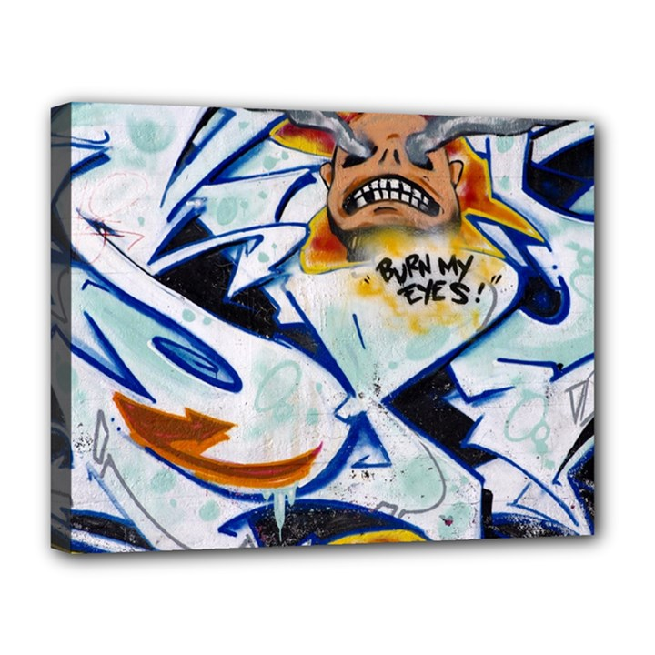 Graffity Canvas 14  x 11  (Framed)